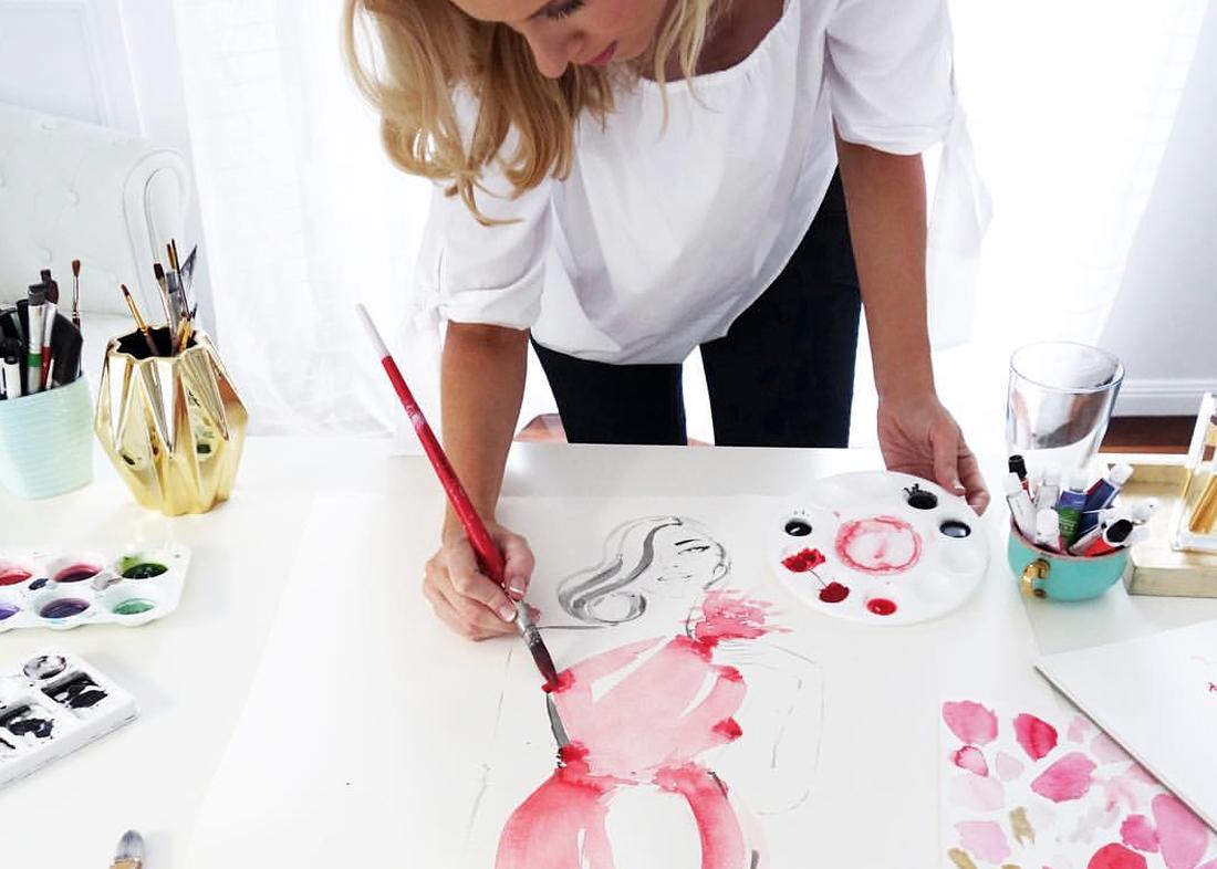 Там она успела попробовать себя в самых разных должностях – начиная от дизайнера, создающего художественное оформление к музыкальному альбому, заканчивая арт-директором в большом магазине одежды. Работая в универмаге она стала делать небольшие зарисовки. Кто–то из ее руководства увидел это и попросил сделать на заказ несколько рисунков. Так, у Меган сформировался небольшой круг клиентуры, с каждым днем заказов становилось все больше. Однако настоящая слава пришла к Меган после того, как она проиллюстрировала новую книгу знаменитой писательницы Кендалл Бушнелл, автора «Секс в большом городе». Книга «Пятая авеню, дом один» стала бестселлером, а Хесс открылись двери в мир высокой моды.